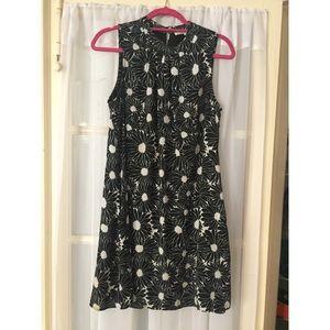 Daniel Rainn black and white floral dress